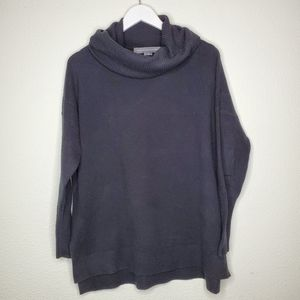 French Connection Black Funnel Neck Sweater